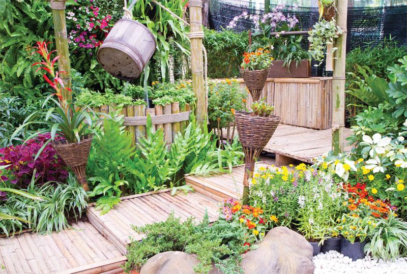 Làm vườn tốt cho sức khỏe
