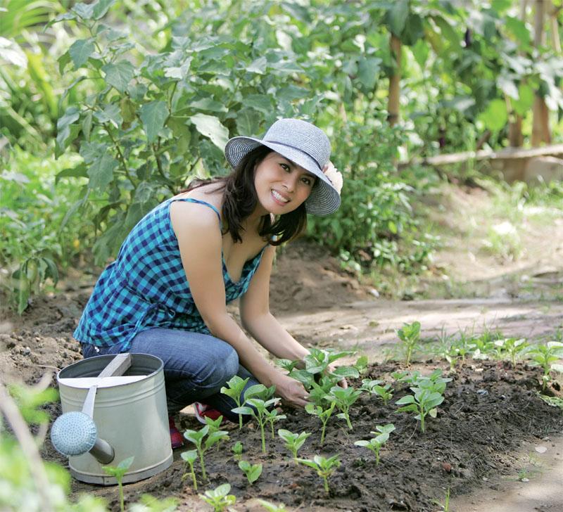 Làm vườn giúp giảm stress