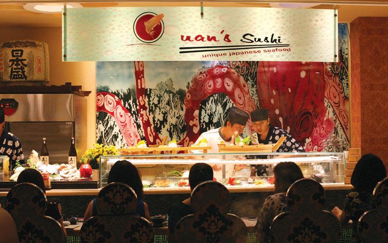 Trải nghiệm phong cách ẩm thực Nhật Bản đặc sắc tại Quan's sushi