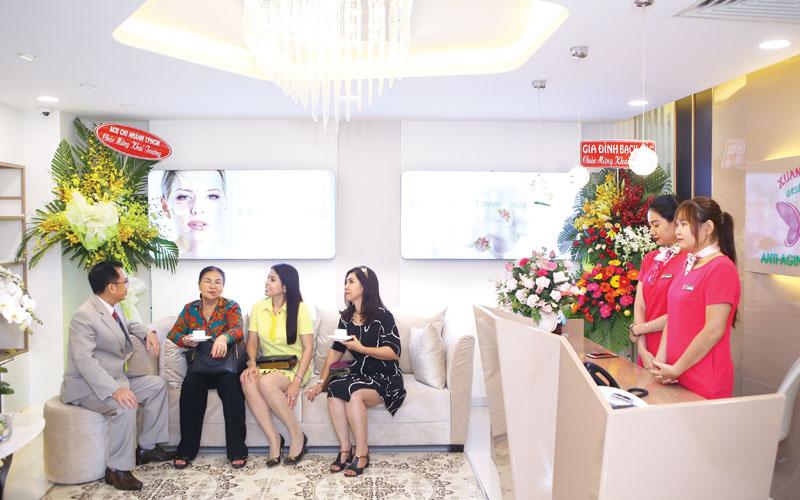 Trung tâm thẩm mỹ Xuân Hùng – Giữ mãi nét xuân thêm yêu cuộc đời