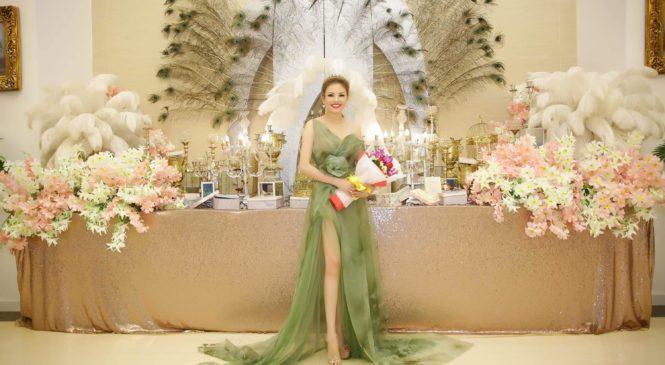 Hoa hậu đại sứ Kina Cẩm Giang toả sáng trong sự kiện của nam vương Nguyễn Hùng