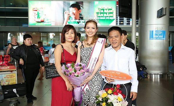 Doanh nhân Kina Cẩm Giang trở thành hoa hậu đại sứ toàn cầu 2018