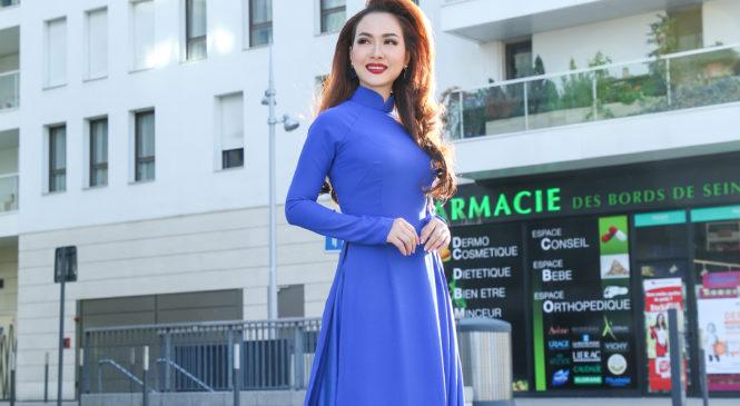 HANA TRƯƠNG – Tân Hoa hậu Áo Dài Toàn Cầu: Trải nghiệm sự toả sáng cùng tình yêu áo dài