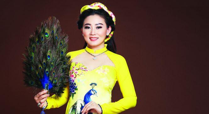 Hoa hậu Áo Dài Kim Nhung – Sức hút của vẻ đẹp đằm thắm