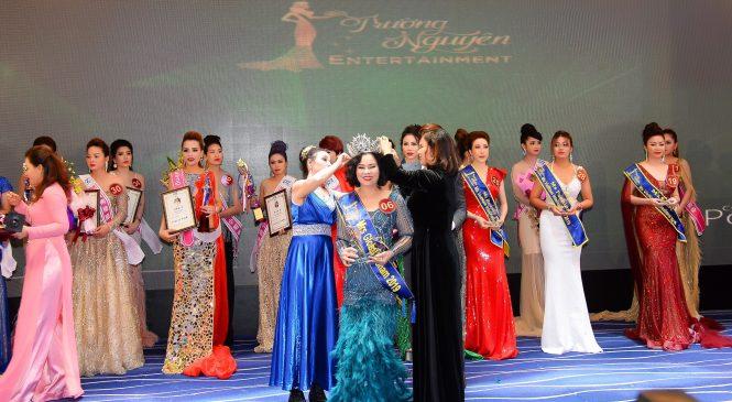 Nguyễn Thị Hồng Phương – TGĐ công ty may Phương Thảo đăng quang Hoa hậu Quý Bà Toàn Cầu