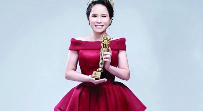 Hoa hậu Nguyễn Thị Lan Phương.