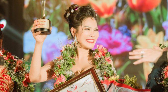Hoa khôi Hương Hoàng – Người đã xây nhiều trường từ thiện vùng cao được trở thành Đại Sứ Nhân Ái Việt Nam.