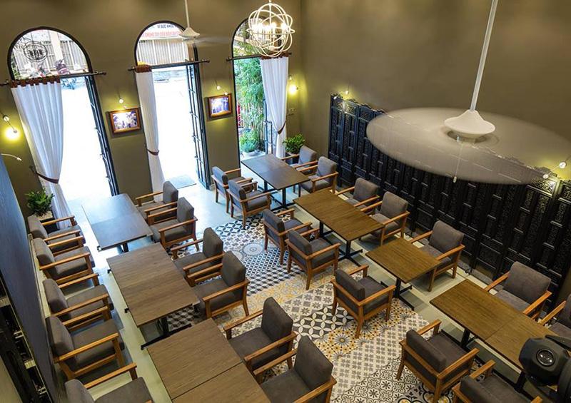 Canteen House – Ngôi nhà Café, nhà hàng đậm chất kiến trúc Đông Dương