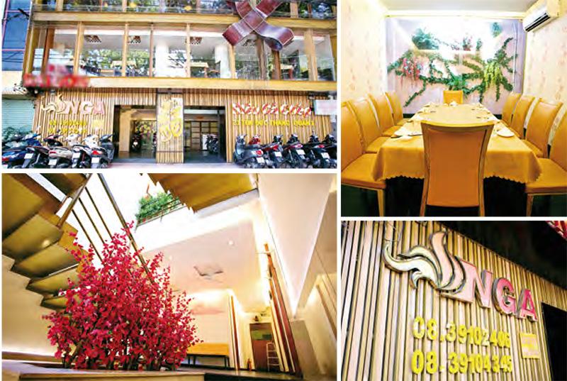 Nhà hàng NGA – Món ngon Hà Nội ở Sài Gòn