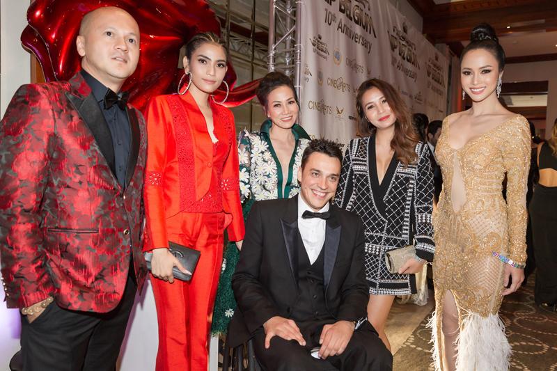 Doanh Nhân Nguyễn Thanh Phương trên thảm đỏ Cannes cùng dàn siêu sao thế giới