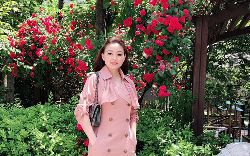 Những hình ảnh xinh tươi của Hoa hậu áo dài Kim Nhung trong chuyến du lịch Hàn Quốc