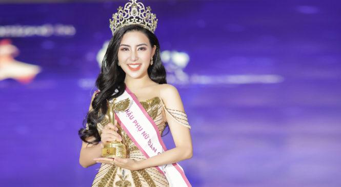 Diễn viên Nguyễn Băng Khuê đăng quang Hoa Hậu Phụ Nữ Toàn Cầu 2018