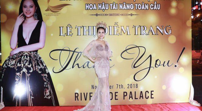 July Trang Lê – sứ mệnh của một hoa hậu tài năng