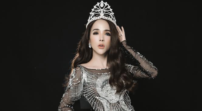 Trần Đoàn – Hot girl chuyển giới khoe vương miện quyền lực