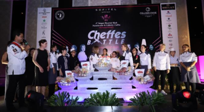 Sofitel Sagon Plaza và Gala tranh tài của các siêu đầu bếp