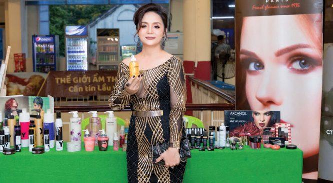 Nữ doanh nhân Lê Oanh – người làm nên danh tiếng công ty mỹ phẩm OVAN