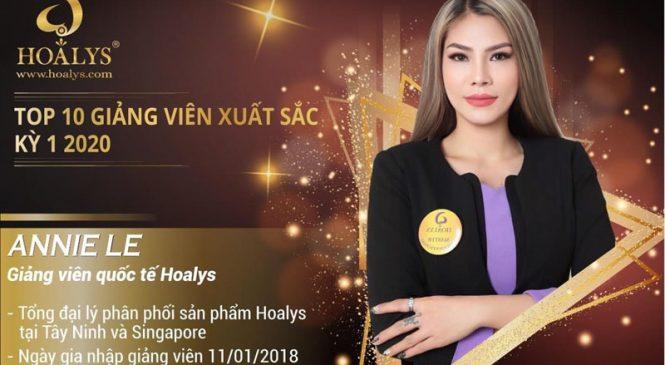 ANNIE LE – Người Việt tài năng của ngành làm đẹp ở Singapoe